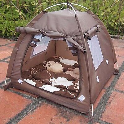 Hot Pet Tent Portable Cats Dog House Garden Relaxing House Breathable Kennel
