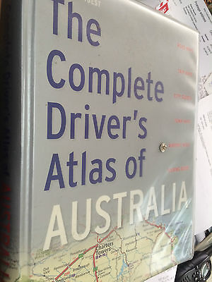 The Complete Driver's Atlas of Australia hardcover book Readers Digest