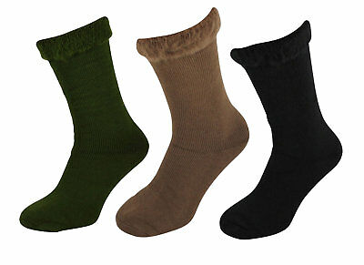 Men's Insulated Thermal Long Socks 2.4 Tog Warm Brushed Fleece Lined Winter