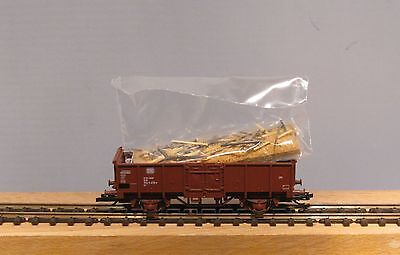Tillig TT 17246 open goods wagon It with Wood waste DB Ep. 4 NIP
