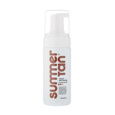 NEW Instant Self Tanning Mousse Summer Tan