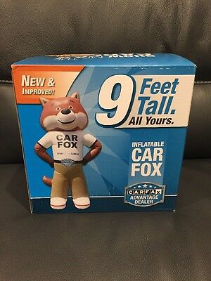 Carfax Inflatable car fox 9 ft tall! New-in-Box