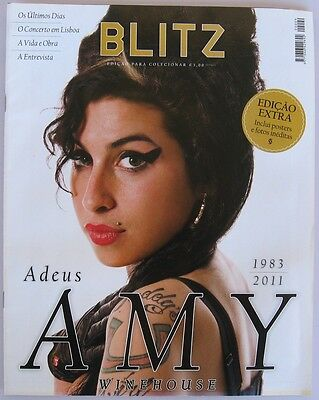 Amy Winehouse Special Tribute Collector's Edition Blitz Magazine  April 2016