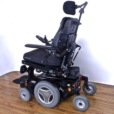 Permobil M300 3G power wheelchair -- driven only 3 miles