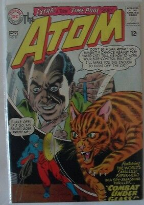 "The Atom #21 (1965) ""Combat under glass!"""