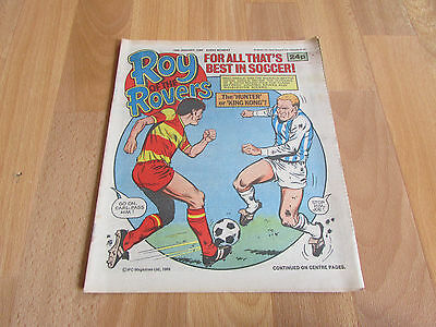 ROY of the ROVERS Classic Weekly Football Comic 25/01/1986 - 25th January 1986