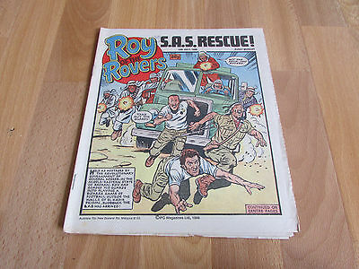ROY of the ROVERS Classic Weekly Football Comic 12/07/1986 - 12th July 1986