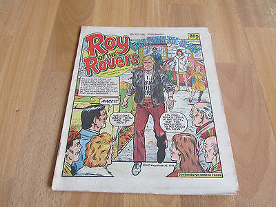 ROY of the ROVERS Back from the Dead Classic Weekly Football Comic 26/07/1986