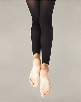 Capezio Ultra Soft Footless Tights for Women Style 1817 S/M, L/XL