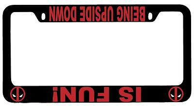 Free Caps Be water My friend Bruce Lee supreme chrome metal license plate frame