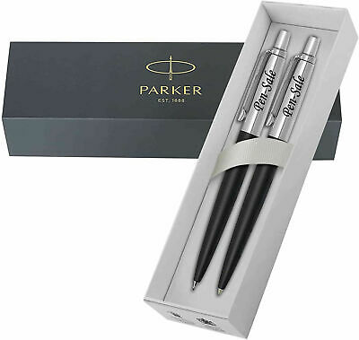 Personalised Engraved PARKER JOTTER Ballpoint Pen / Fountain Pen / Pencil / Set