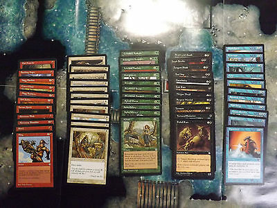 Stronghold complete Set of Common Magic the Gathering cards MTG
