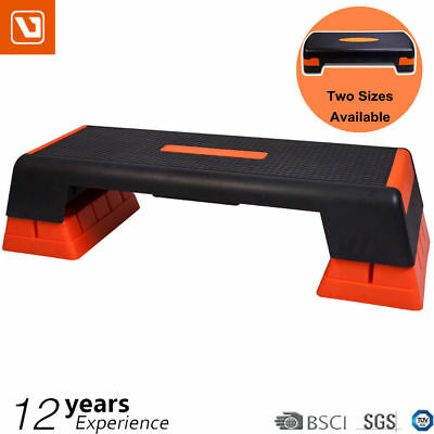 LiveUp Aerobic Stepper Training Gym Exercise Fitness 2 Block Bench Step Level