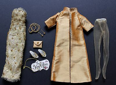 """TINY KITTY COLLIER Golden Goddess OUTFIT for 10"""" Fashion Doll KC1401 NEW Tonner"""