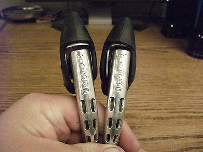 Vintage Dia-Compe Hooded Brake Levers ..Double Drilled...Bicycle..Trusted Seller