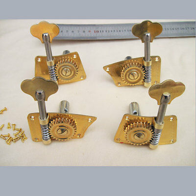 3/4&4/4 double bass machine head winders pegs with extra screws