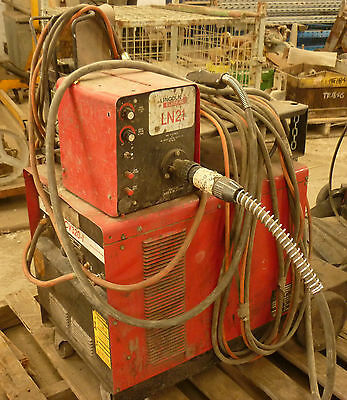 Mig Welder  Lincoln Electric Cv320-1 Separate Wire Feed 3 Phase Sound Unit