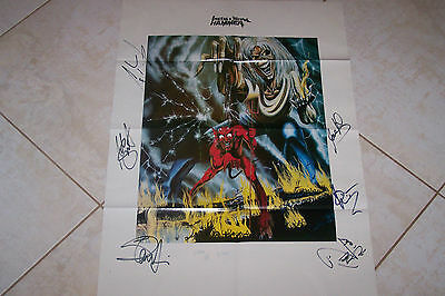 Iron Maiden Number Of The Beast / System Of A Down  Poster