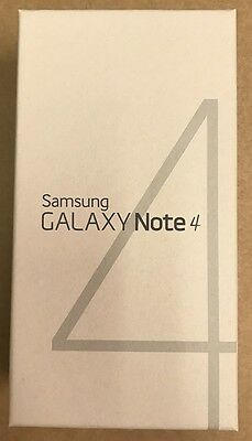 NEW Samsung Galaxy Note 4 SM-N910A AT&T UNLOCKED 4G 32GB Smartphone Black White
