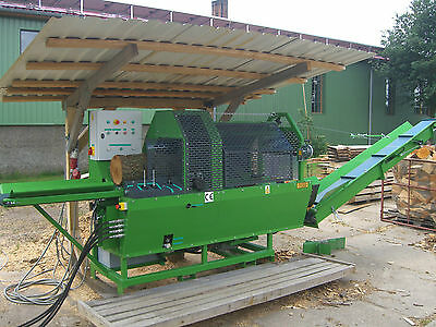 TMS45 12t PTO/Zapfwelle Sägespaltautomat Firewood processorBrennholzautomat