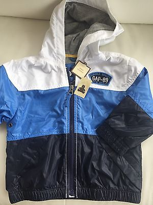 Gap Kids Jacket Age 18-24m Blue And White (BNWT)