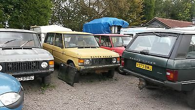 Rangerovers 2 And 4 Door Also Landrovers Shoguns Landcruisers For Renovation