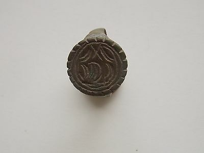 Medieval bronze Finger Ring. c.15th - 17th century.Poland.
