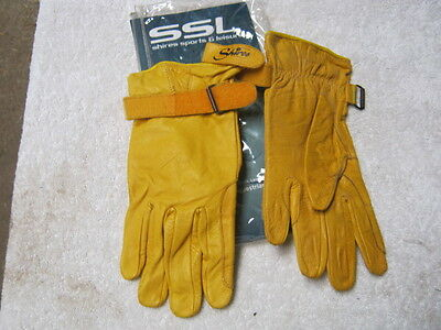 Shires Goat Skin Gloves - Yellow - XL  (45)