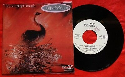 """DEPECHE MODE / JUST CAN'T GET ENOUGH - 7"""" (printed in Italy 1982) TOP RARE !!!"""