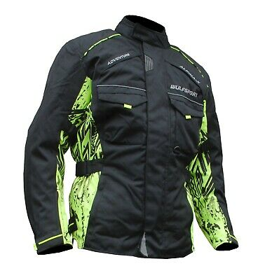 Jacket Alpina Advance Wulfsport Enduro Motorcycle Road Ktm Bmw Drz Gs Touring