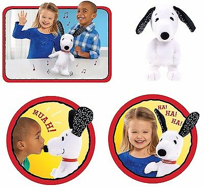 Peanuts Happy Dancing Snoopy Plush Soft Toy Musical Children Toys Xmas Gift