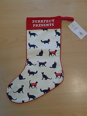 Brand New, Marks And Spencer, Pet Cat Christmas Stocking/present