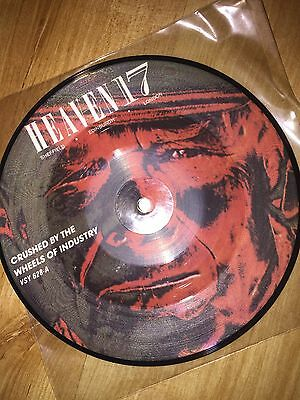 """Heaven 17 Crushed By The Wheels Of Industry UK 7"""" picture disc"""