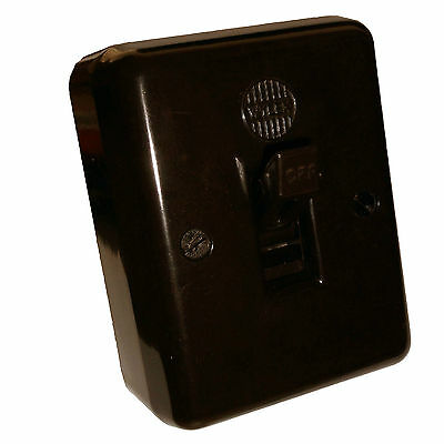 Wylex 20Amp Single Throw Toggle Cooker or Water Heater Switch Vintage Bakelite