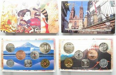 JAPAN 666 Yen 2005 MINT SET COIN CONVENTION BASEL - VERY SCARCE!!! # 95180