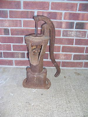 "Antique Vintage 18"" Columbiana Cast Iron Pitcher Pump #478 Farm Well Pump"