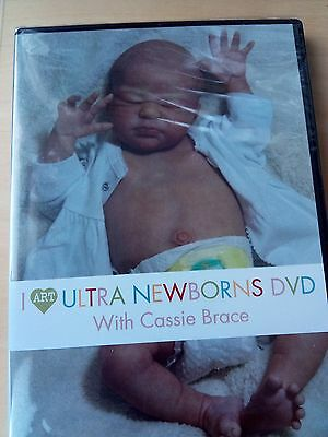 Reborn Ultra Newborns Dvd With Cassie Brace (New Sealed)