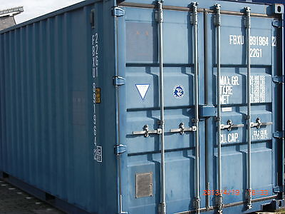 containerhalle 2 x lagercontainer 20 gebraucht. Black Bedroom Furniture Sets. Home Design Ideas