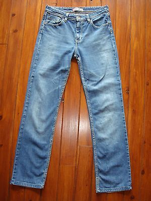 Levi's 627 Straight Fit Jeans W30 High Waisted / Vaqueros Rectos Levis Talla 30