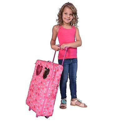 """Doll Double Travel Trolley with double sleeping bag Fits For  18"""" Dolls"""