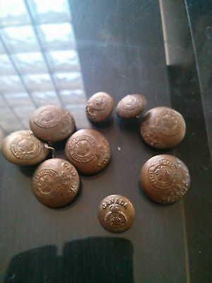 Military  coat buttons