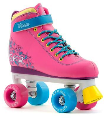 SFR Kids Vision II Girls Quad Roller Skates - Tropical *Free Delivery*