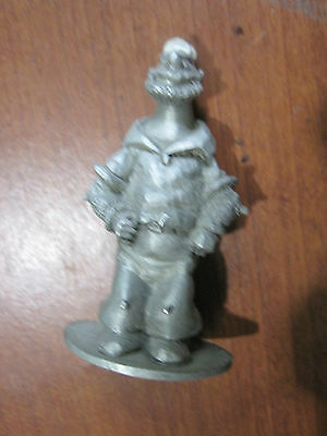 POPEYE pewter figure  BRUTUS  from Spoontiques  1980