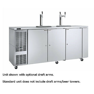 """Perlick DDC92 92"""" Concessionaire Draft Beer Dispenser with Direct Draw"""