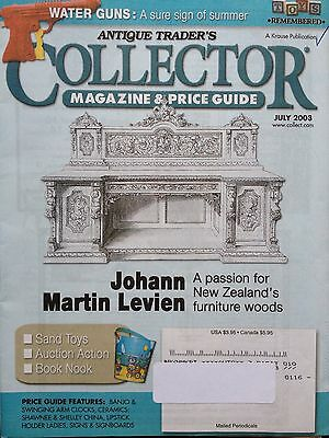 Antique Trader's Collector Magazines & Price Guides~July '03 Sand Toys Water Gun