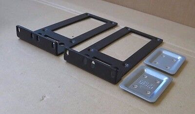 "2 x APC Mounting Bracket 870-1098-001 + 2 x Cleat 2"" Formed RoHS Silver 870-1252"