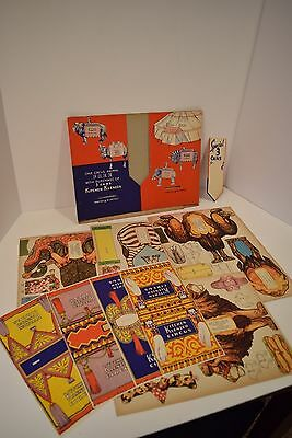 """Rare 1930's """"KITCHEN KLENZER"""" CIRCUS Store Display Kit - Complete #1"""