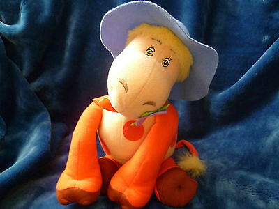 Magic Roundabout Ermentrude The Cow Talking Soft Toy By Vivid Imagination