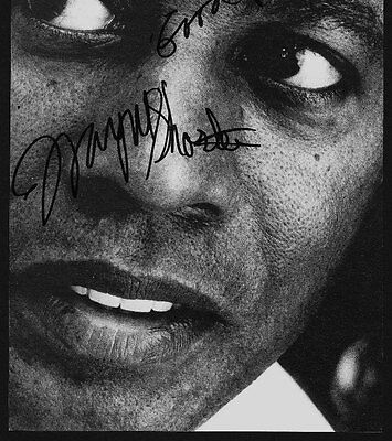 WAYNE SHORTER Jazz legend RARE AMAZING IN PERSON SIGNED W/PROOF