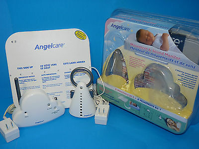 Angelcare Movement & Sound Baby Monitor Model AC201 w/Original Packaging+Instr.